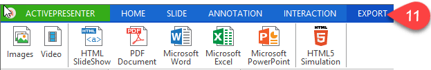 export-tab