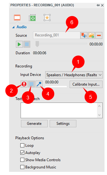 Insert Audio in ActivePresenter