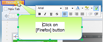 Inline Text Editor and Floating Format Toolbar