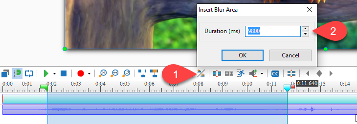 Blur moving objects in videos