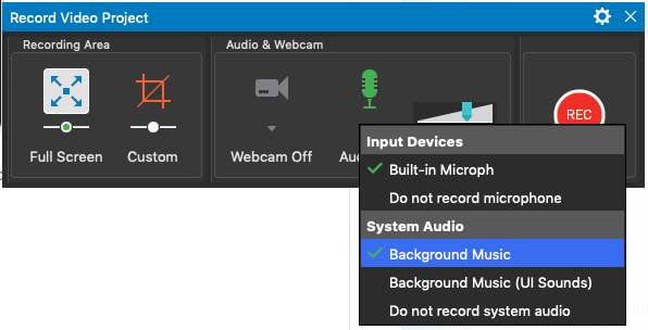 Record System Audio on macOS - ActivePresenter 7