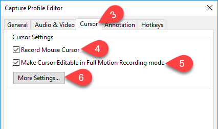 Change Mouse Cursor in Captured Videos