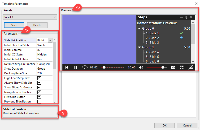 Customize HTML5 Player
