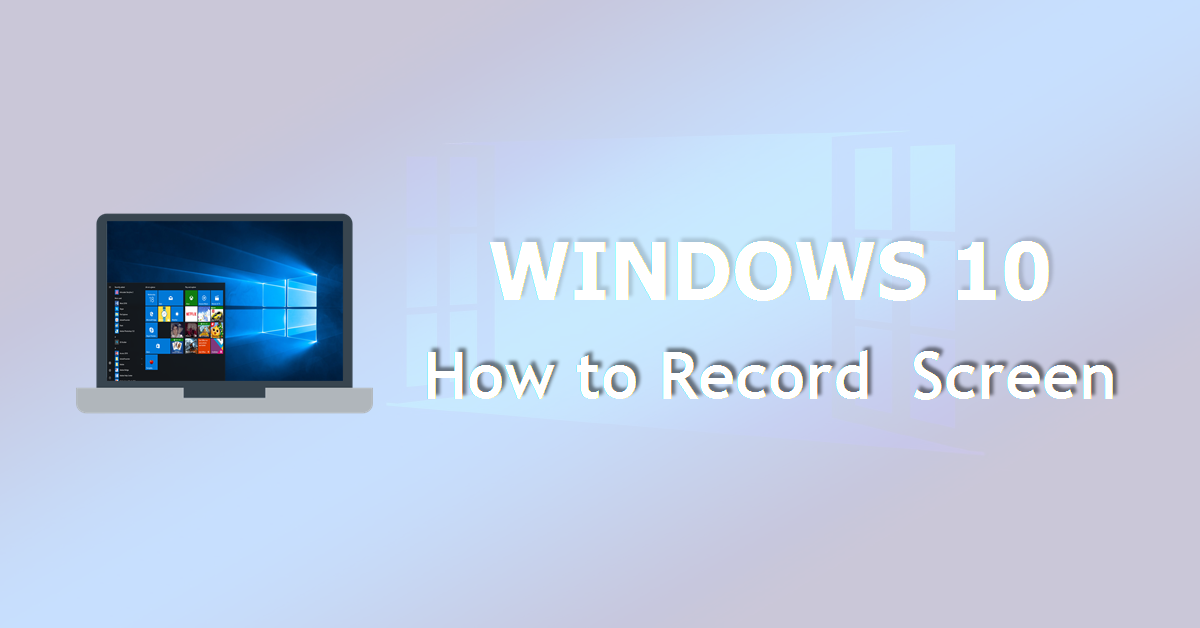how to record screen in windows 10  - activepresenter