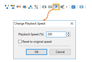 Change speed