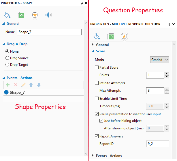 Shape-Properties-Question-Properties pane