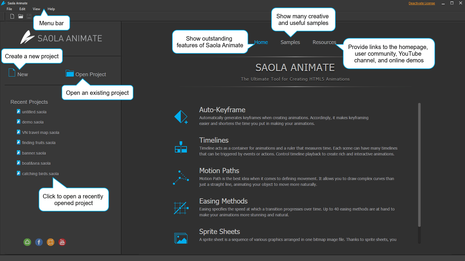 Saola Animate Beginner's Guide - HTML5 Animation Software