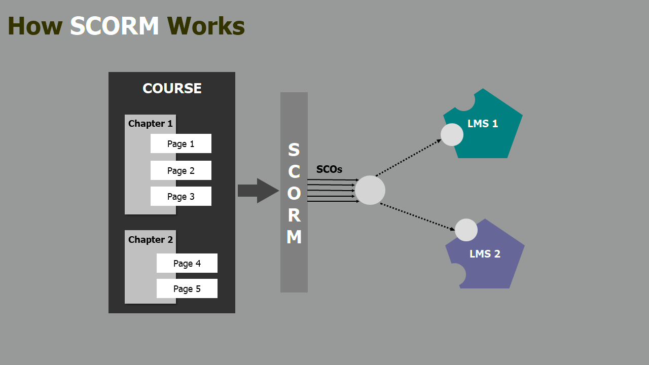 ActivePresenter SCORM and TIin Can API (xAPI)