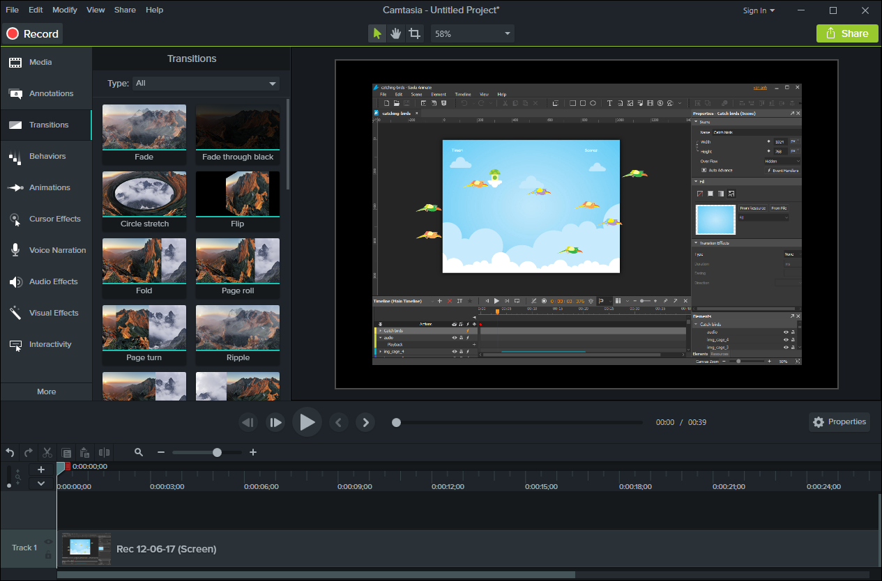 Video Editing & Screencasting Tools for Windows/Mac OS X
