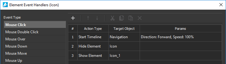 There are so many actions to control timeline playback.