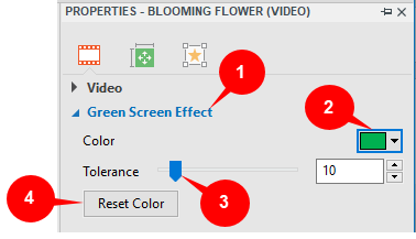 Chroma key in ActivePresenter 7