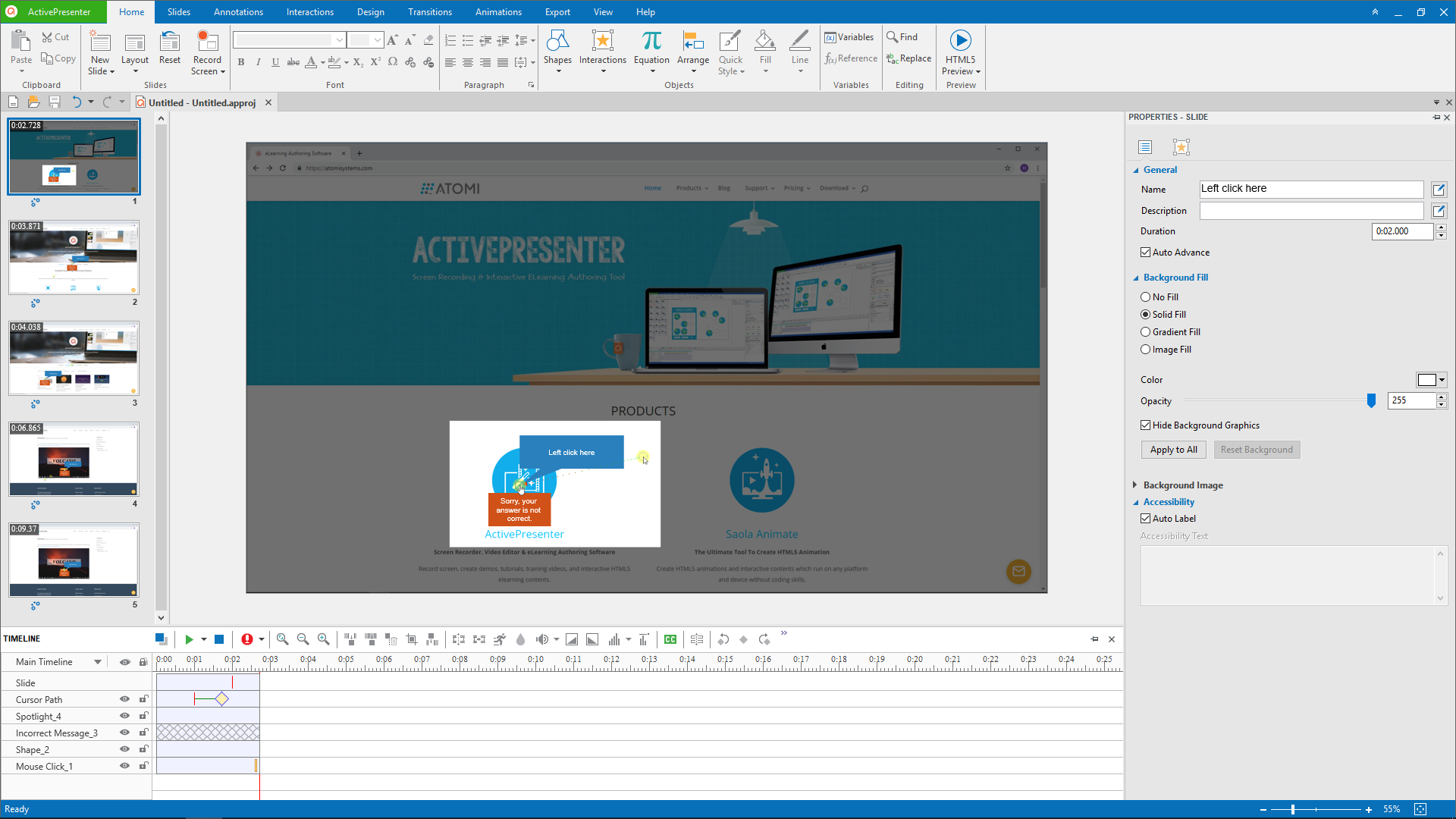 Overview of ActivePresenter 7