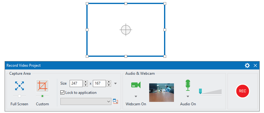 How to Start and Stop Recording in ActivePresenter 7