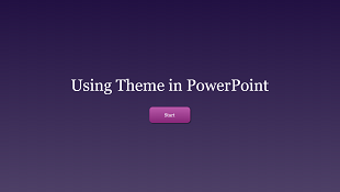 Using Theme in PowerPoint