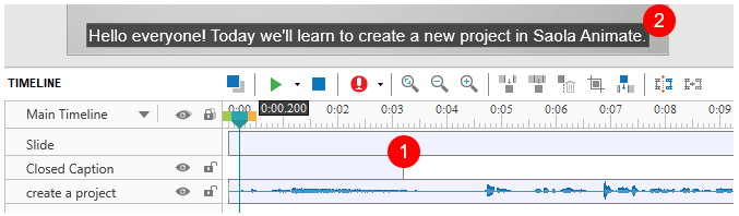 ActivePresenter makes it easy to add closed captions to your videos or courses.
