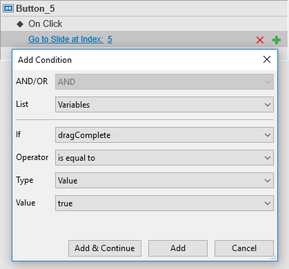 Learn how to add variables and work with them in ActivePresenter 7.
