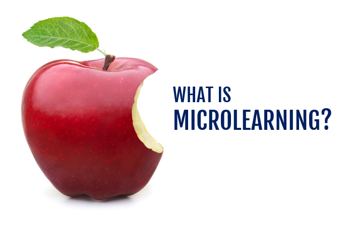 microlearning aka bite-sized learning
