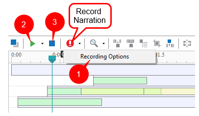How to Record Narration in ActivePresenter 7