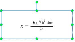 Quadratic Formula is shown on the Canvas.