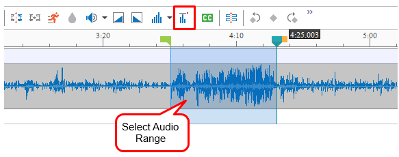 Using Audio Normalization in ActivePresenter