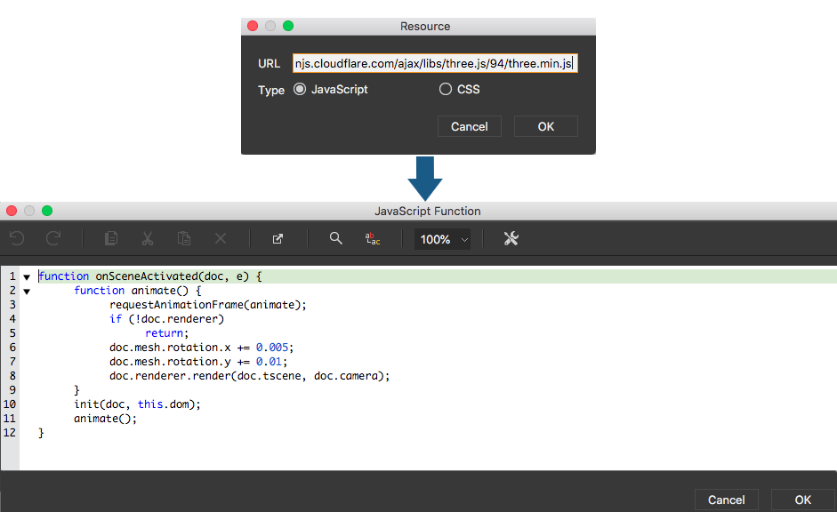 Extending functionality with JavaScript and CSS