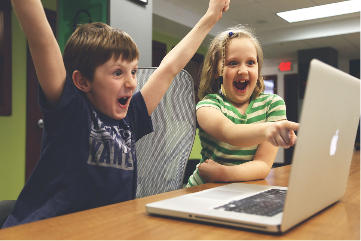 kids are excited about eLearning