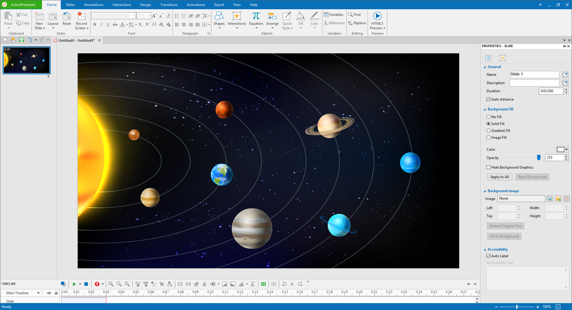 Add planets' images to creat interactive images