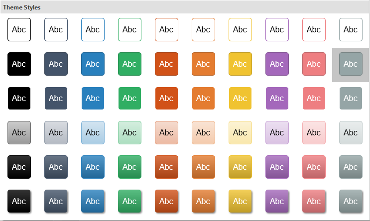 Quick style in ActivePresenter helps color an eLearning course