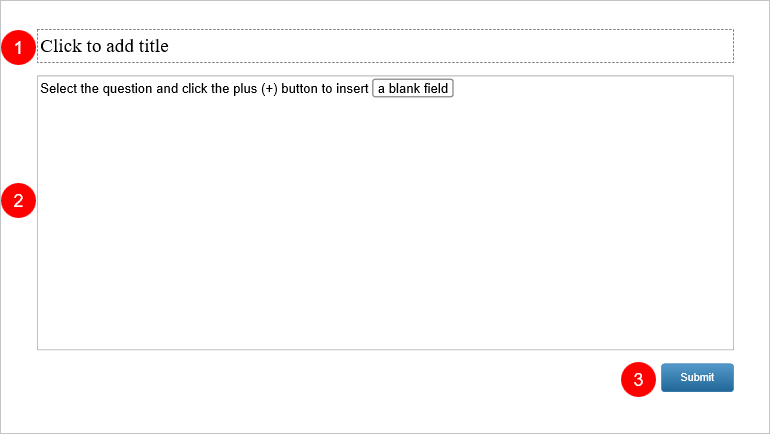 ill in Blanks Question Slide in ActivePresenter