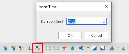The Insert Time tool is critically helpful when you want to have more freeze time for your videos so that you can add some clarifications or explanations on.