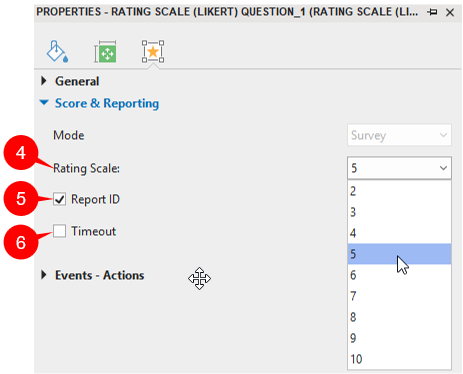 Set Scale and Reporting