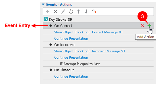 Add Actions to Interaction Objects