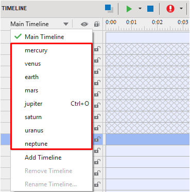 Interactive timelines in ActivePresenter 8