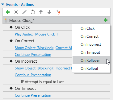 Add more Events