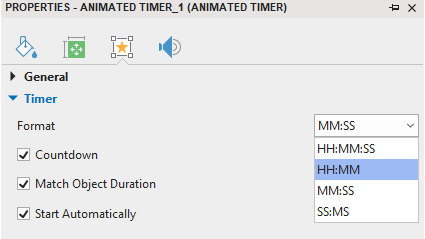 Edit Attributes of a Timer