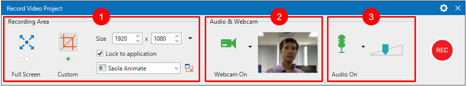 Record video demonstration with ActivePresenter 8