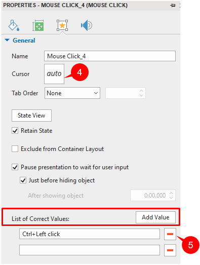 Set Correct Values