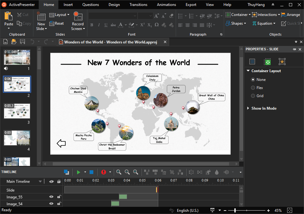 eLearning Games Created in ActivePresenter