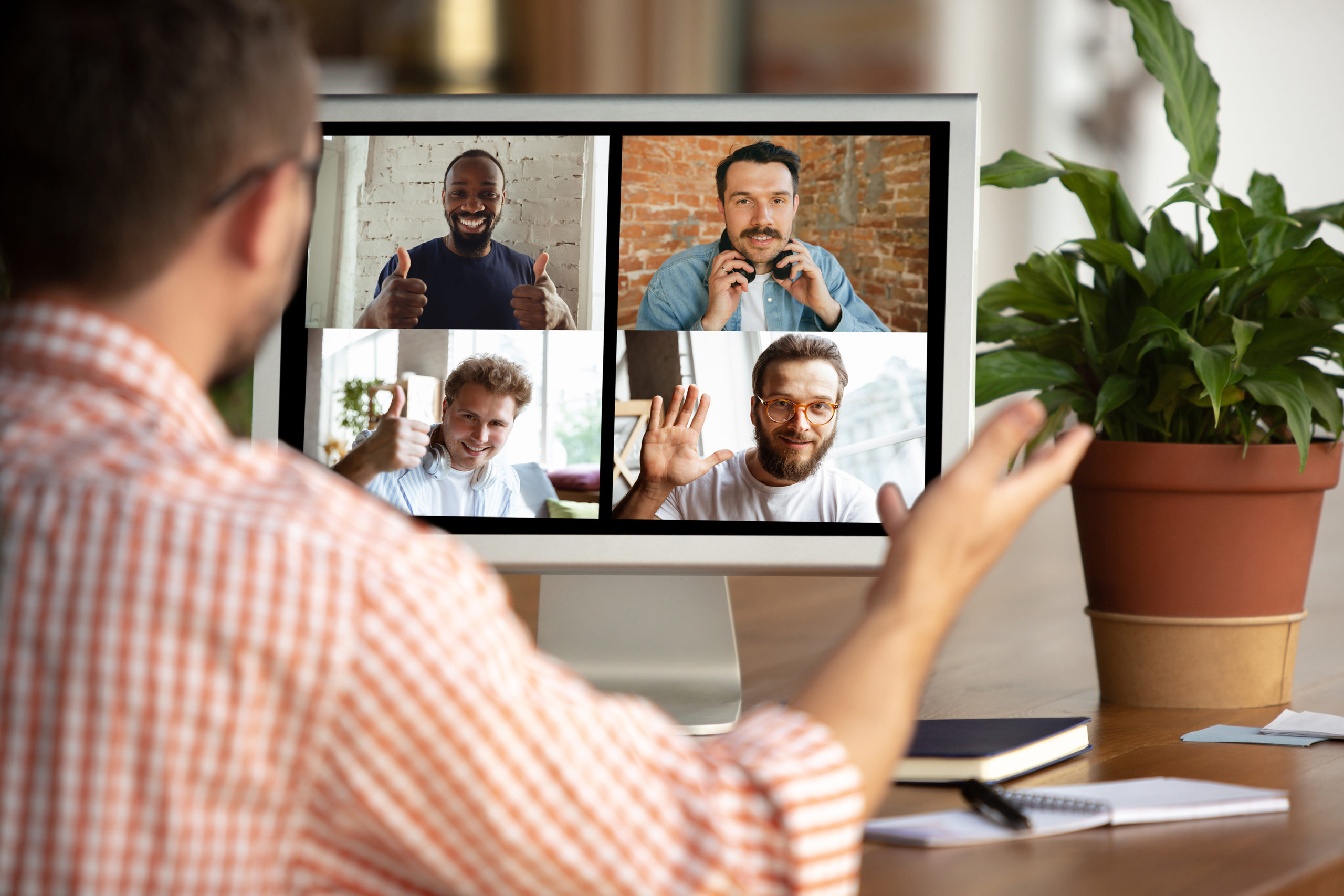 Stay connected with your team when you are learning and working from home