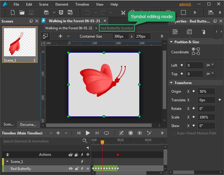 An animation symbol is a reusable resource with independent timelines and interactive capabilities.