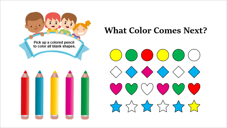 Create Color Patterns Game in ActivePresenter 8