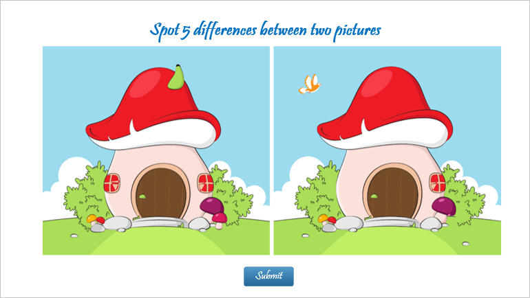 Create eLearning Game: Spot The Differences with ActivePresenter 8