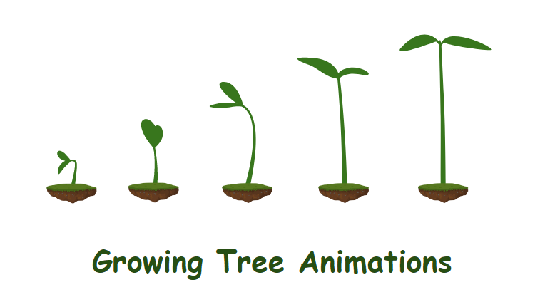 How to Create the Growing Tree Animations in Saola Animate 3