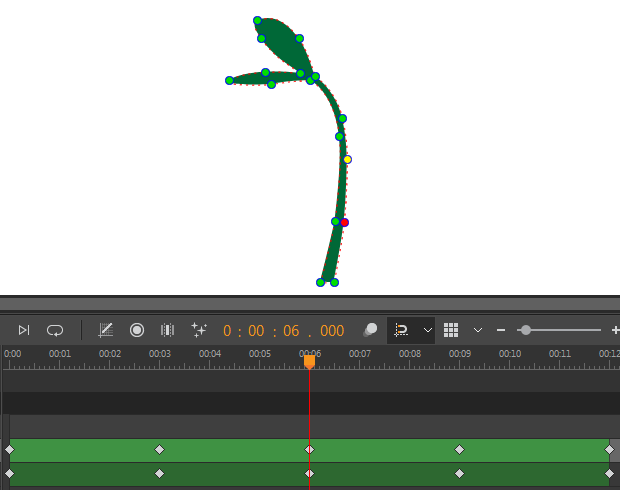 Growing Tree Animations stage 3