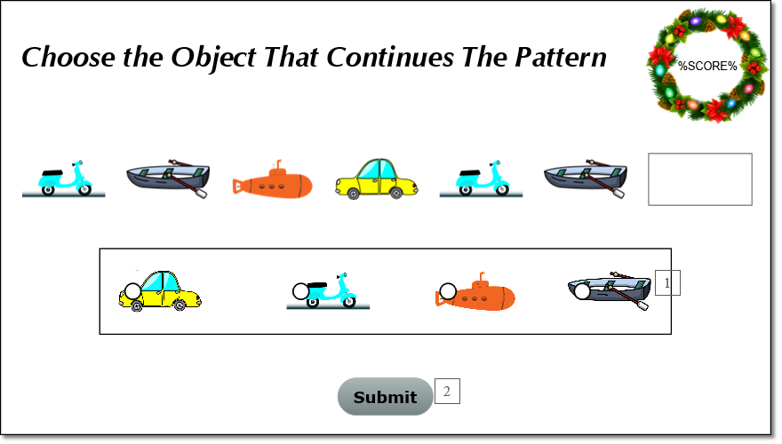 Create Shape Patterns Game in ActivePresenter 8
