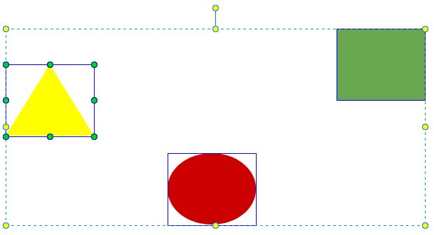 Resize to the reference element.