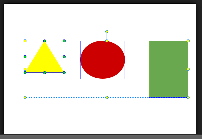 Resize and Align Elements in Saola Animate 3
