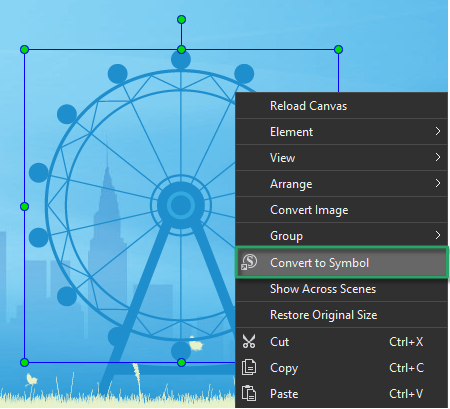 Use Symbols to Reuse Animations in Saola Animate 3